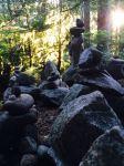 Meditative cairns